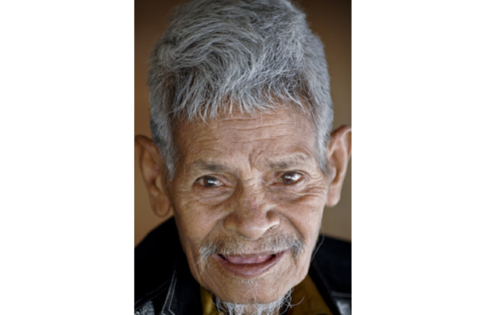 Portrait of an elder from Manatuto. Photo by UNMIT/Bernardino Soares