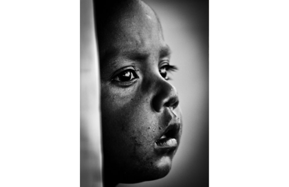 Portrait of a child from Atauro. Photo by UNMIT/Bernardino Soares