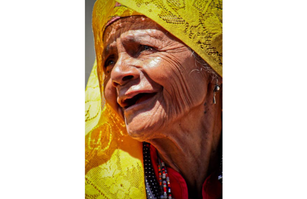 Best of UNMIT Photo of the Day 2011: Portrait of an elder from Maubisse. Photo by UNMIT/Bernardino S