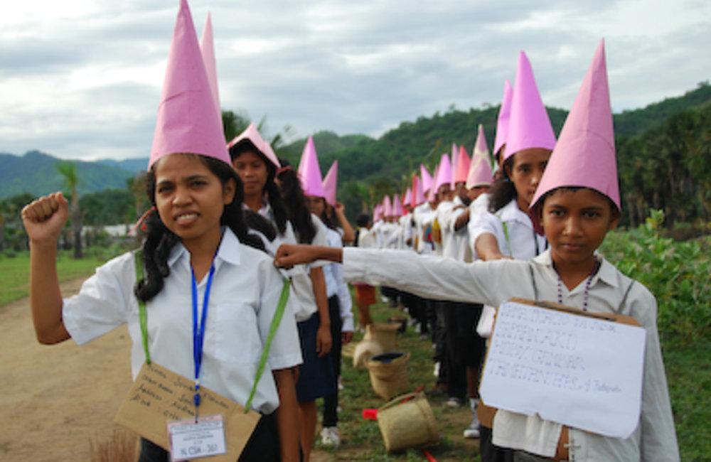 Students around the country began orientation week after several months break. Orientation activitie