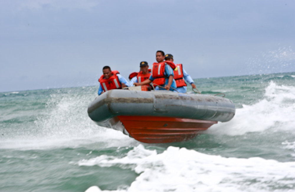 PNTL's Maritime Unit was established in 2001 and has 51 personnel, including police officers, boat