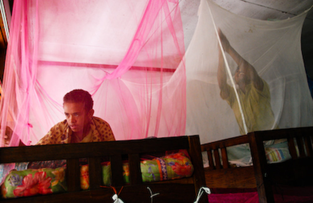 The malaria that most commonly occurs in Timor-Leste can be life-threatening. It can cause seizures,