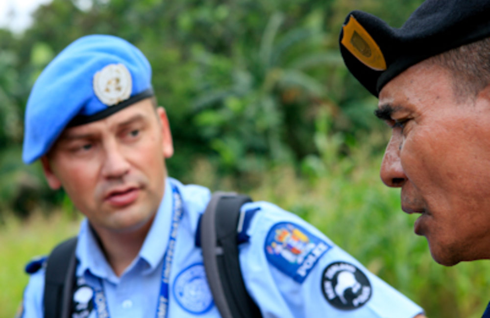 In districts and units where the national police of Timor-Leste have resumed primary policing respon