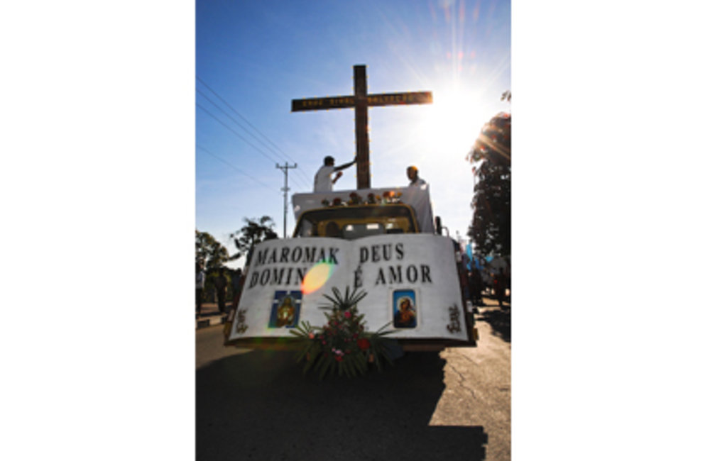 Based on the 2004 census, approximately 98% of the population in Timor-Leste is Roman Catholic. Prot