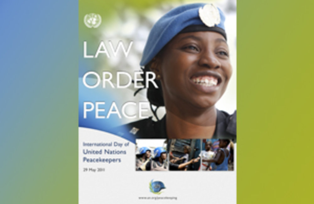 United Nations Peacekeepers Day 2011