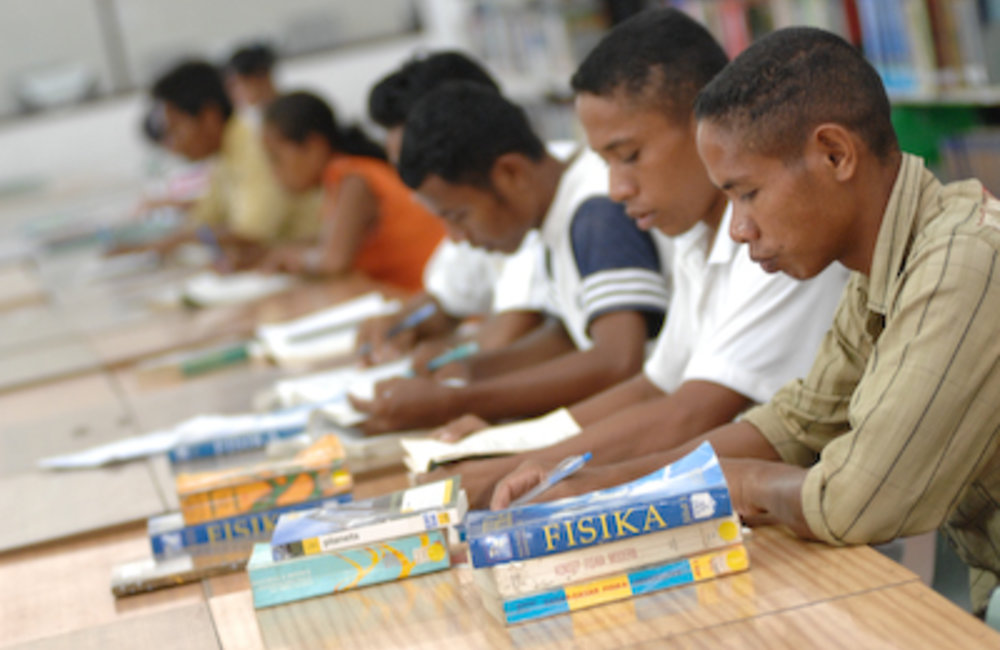Back-to-school...The Ministry of Education estimates there are currently 16,727 students in higher e