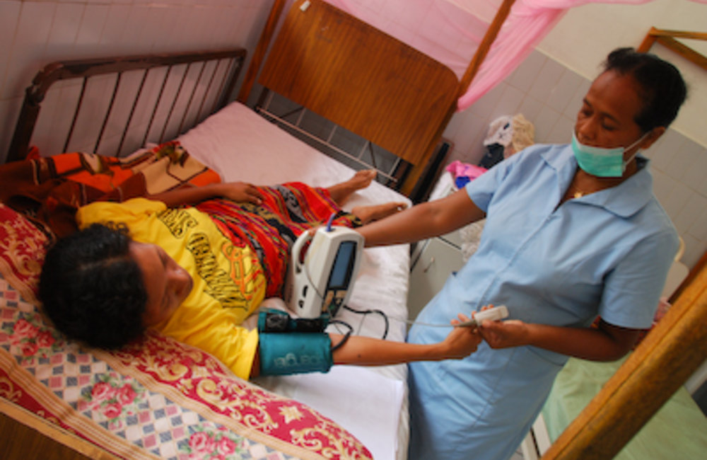 Timor-Leste's health sector has significantly progressed in re-establishing basic infrastructure and