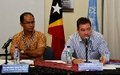 "UNMIT Launches Fourth Human Rights Report on Timor-Leste: ""Facing the Future"""
