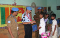 "UN Police community project for becora orphanage ""Orfanato Santa Bakhita"""