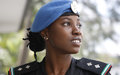 UN Police Officer from Nigeria, Hamimat Lawal, in Timor-Leste