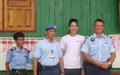 Miss New Zealand visits Community Policing Project in Timor-Leste
