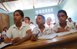 Back-to-school…Ministry of Education figures estimate there are currently just under 300,000 child